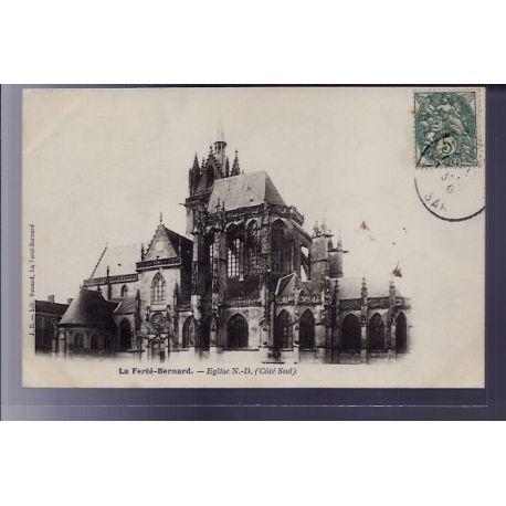 72 - La Ferte-Bernard - Eglise Notre-Dame - Voyage - Dos non divise