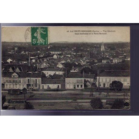 72 - La Ferte-Bernard - Vue generale - Saint-Anthoine et la Ferte-Bernard - V