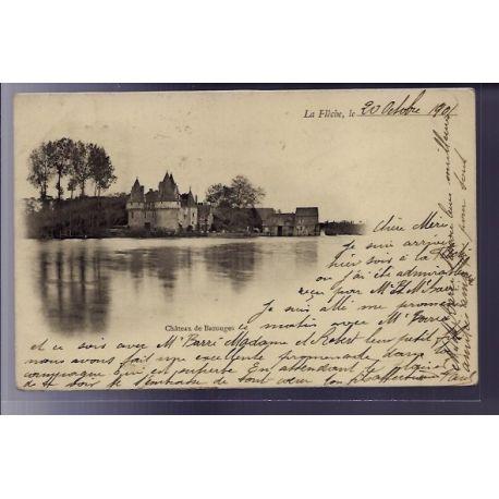 72 - La Fleche - Chateau de Bazouges - Voyage - Dos non divise