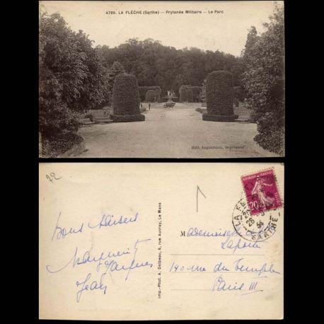 72 - La Fleche - Prytanee militaire - Le Parc