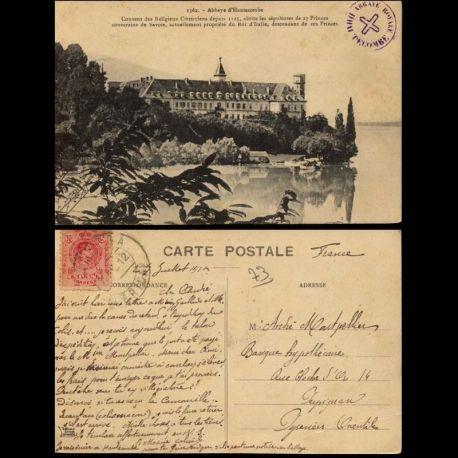 Carte postale 73 - Abbaye d'Hautecombe - Couvent des religieux Cisterciens