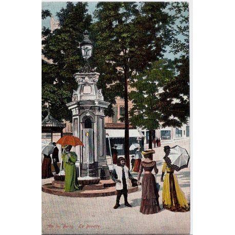 Carte postale 73 - Aix les Bains - La buvette