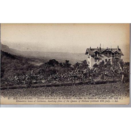 Carte postale 73 - Aix-les-Bains - Station des corbieres
