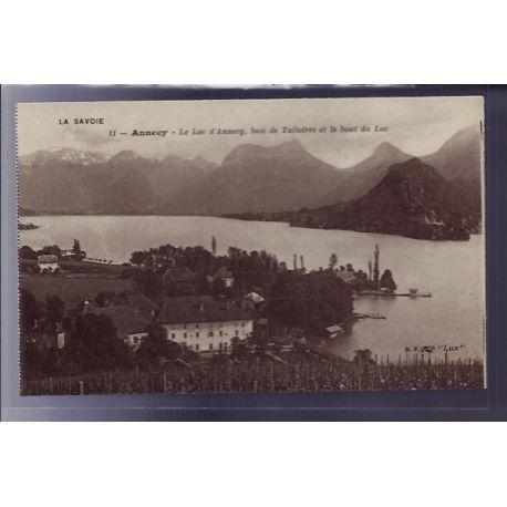 Carte postale 73 - Annecy - Le Lac d' Annecy - Baie de Talloires et le Bout du lac - Non vo
