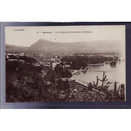 Carte postale 73 - Annecy - vue generale - Non voyage - Dos divise
