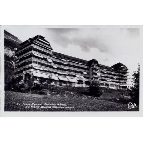 Carte postale 73 - Assy-Passy - Grand Hotel du Mont Blanc