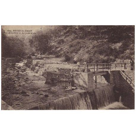 Carte postale 73 - Brides les Bains - La prise d'eau