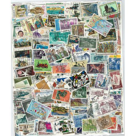 Collection de timbres Espagne Grands Formats oblitérés