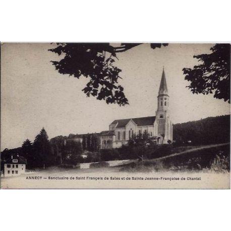 Carte postale 74 - Annecy - Sanctuaire de Saint-Francois de Sales et de Sainte Jeanne-Franco