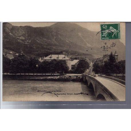 Carte postale 74 - Bonneville et le Mole - Voyage - Dos divise