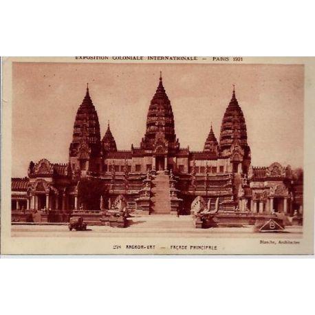 Carte postale 75 - Angkor-vat - Facade principale