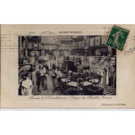 Carte postale 75 - Annexe de l'Ameublement