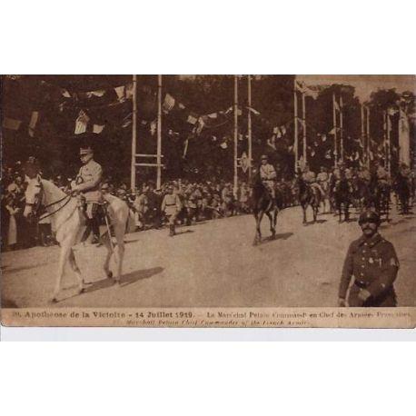 Carte postale 75 - Apotheose de la Victoire - 14 Juillet