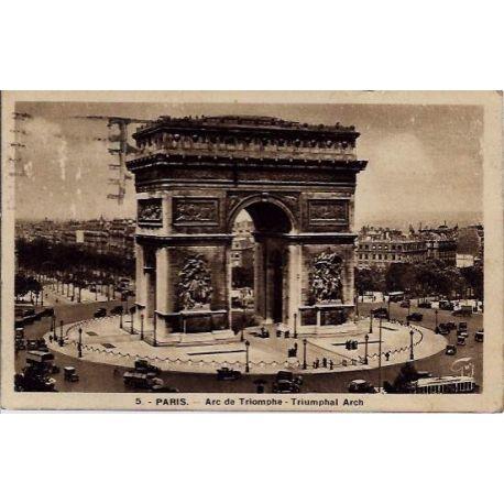 Carte postale 75 - Arc de Triomphe
