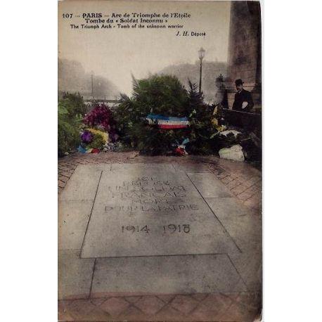 Carte postale 75 - Arc de Triomphe de l'Eoile