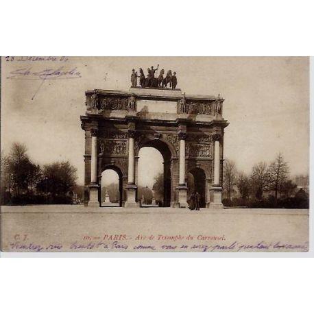 Carte postale 75 - Arc de Triomphe du Carrousel