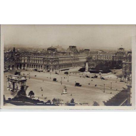 Carte postale 75 - Arc de Triomphe du Carrousel - Louvre