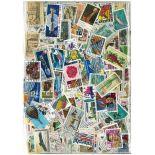 Sammlung gestempelter Briefmarken die Vereinigten Staaten