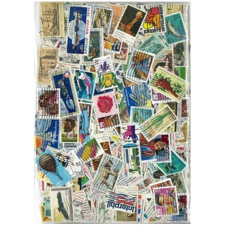United States - 100 different stamps