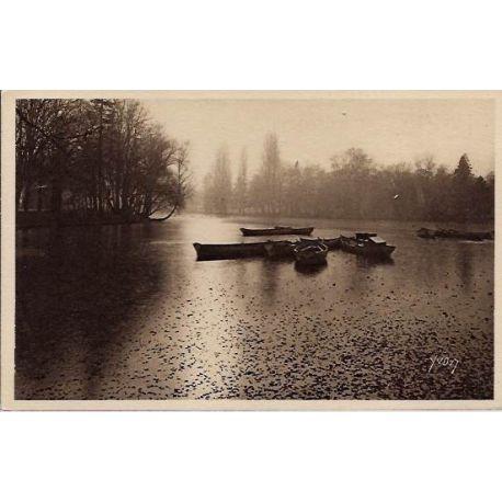 Carte postale 75 - Automne au Bois de Boulogne