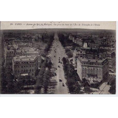 Carte postale 75 - AV Bois de Boulogne