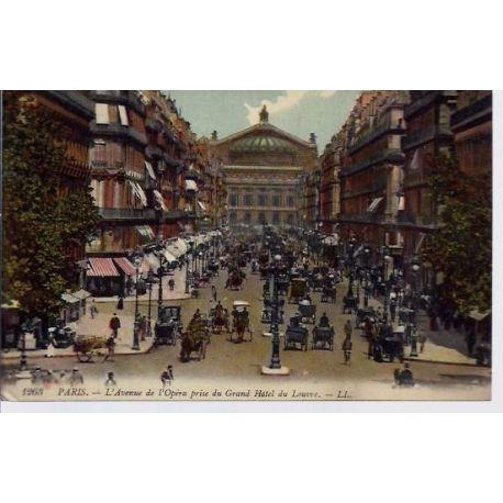 Carte postale 75 - Avenue de l'Opera