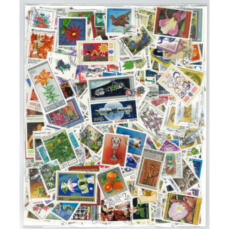 Collection de timbres Europe oblitérés