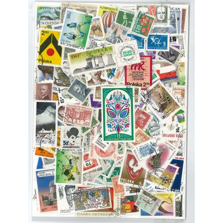 Europe Est - 300 timbres différents