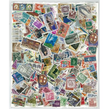 Collection de timbres Europe Ouest oblitérés