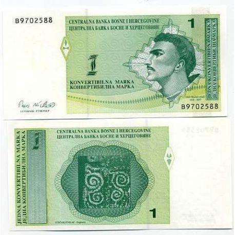 Bosnie - Pk N° 59 - Billet de 1 Dinar