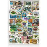 Sammlung Von Briefmarken gestempelt Fiji