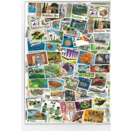 Fidji - 10 timbres différents