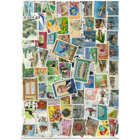 Collection de timbres Formose oblitérés