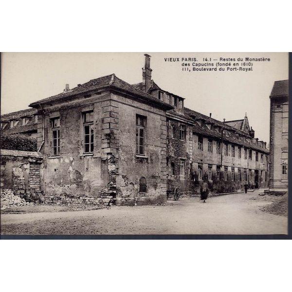 75 restes du monastere des capucins la maison du collectionneur - Boulevard du port royal paris ...