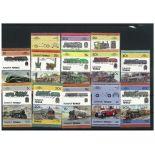 Collection de timbres Funafuti oblitérés