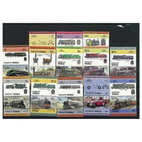 Funafuti - 25 timbres différents