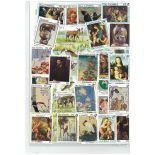 Sammlung gestempelter Briefmarken Gambia