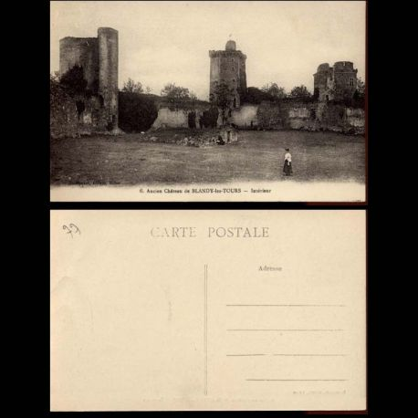 77 - Ancien de chateau de Blandy les Tours - Interieur