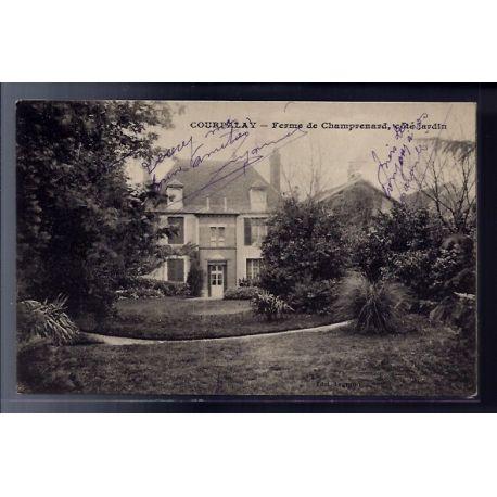 77 - Courpalay - ferme de Champrenard - cote jardin - Voyage - Dos divise