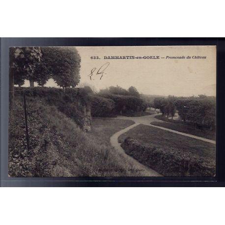 77 - Dammartin-en-Goele - promenade du chateau - Voyage - Dos divise
