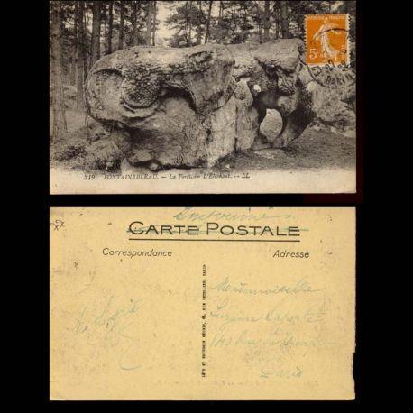 77 - Fontainebleau - La Foret - L'Elephant