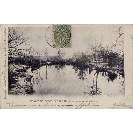 77 - Fontainebleau - La mare de Franchard - Voyage - Dos non divise