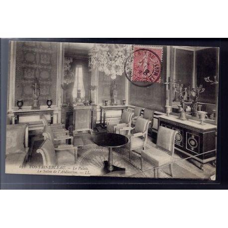 77 - Fontainebleau - le Palais - le salon de l' abdication - Voyage - Dos d