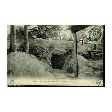 77 - Foret de Fontainebleau - Caverne des Brigands