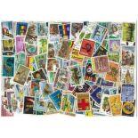 Sammlung gestempelter Briefmarken Ghana