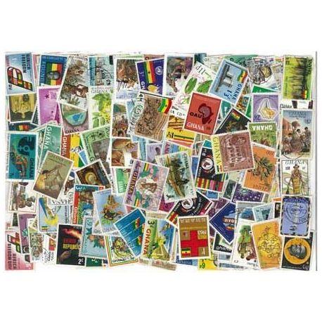 Ghana - 25 verschiedene Briefmarken