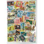 Collezione di francobolli Ghana & quota di L ma cancellata