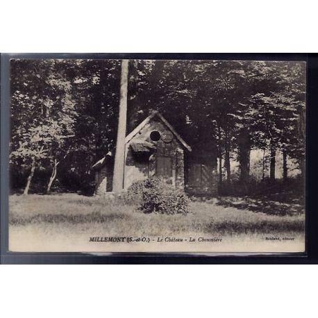 Carte postale 78 - Millemont - le chateau - la chaumiere - Non voyage - Dos divise