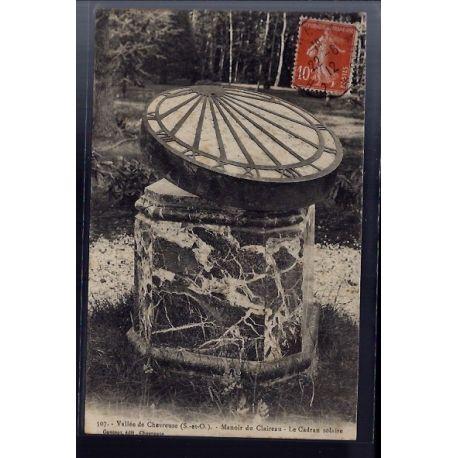 Carte postale 78 - Vallee de la Chevreuse - Manoir du Claireau - le cadran solaire - Voy