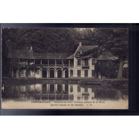 Carte postale 78 - Versailles - Hameau du petit Trianon - maison de la Reine - Non voyag